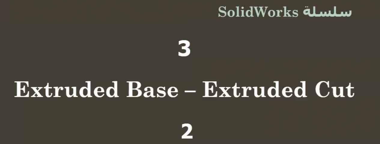 ٣ | الحلقة الثالثة | سلسلة دروس SolidWorks للمبتدئين